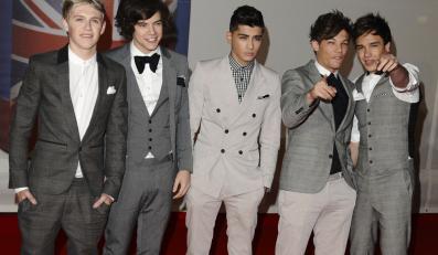 One Direction pod choinkę