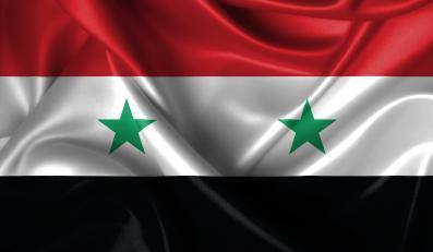 Flaga Syrii - zdjęcie ilustracyjne