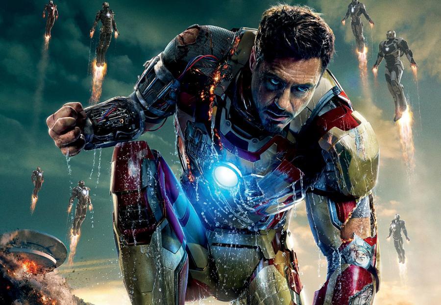 "10. ""Iron Man 3"" – 1,215 miliarda dolarów"