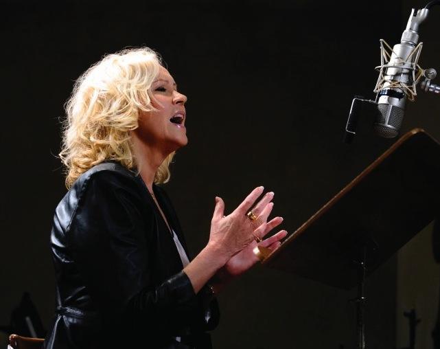 "Agnetha Fältskog podczas pracy nad albumem ""A"""
