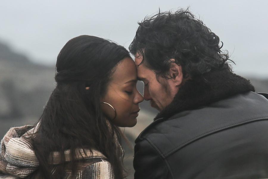 Zoe Saldana i Billy Crudup w filmie \