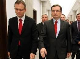 Arkadiusz Mularczyk i Zbigniew Ziobro