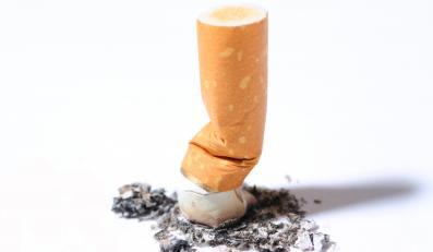 Zgaszony papieros