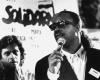 Stevie Wonder w sztabie wyborczym Solidarności