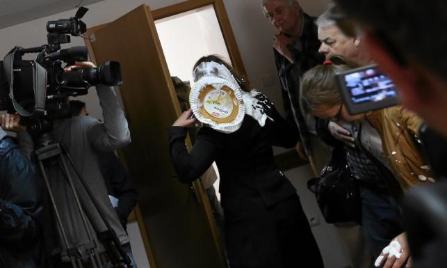 Tortem w sędzię na procesie Kiszczaka. ZDJĘCIA
