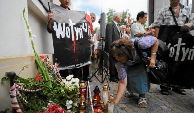 Marsz pamięci ku czci ofiar w 69. rocznicę rzezi woyńskiej