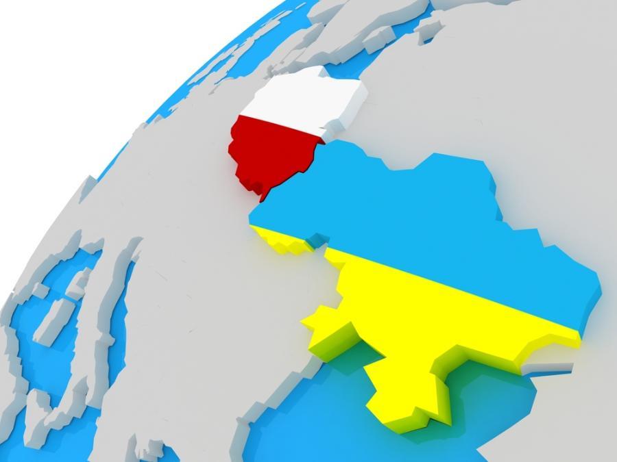 Infografika: Polska i Ukraina