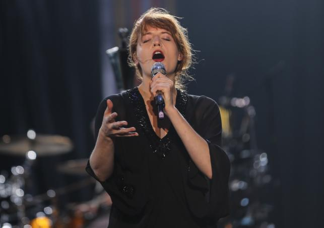 Florence and the Machine na Coke Live Music Festival 2013