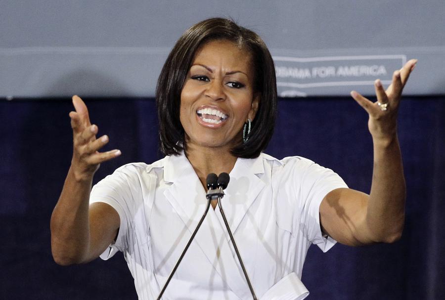 Michelle Obama przerzuca się na hip-hop