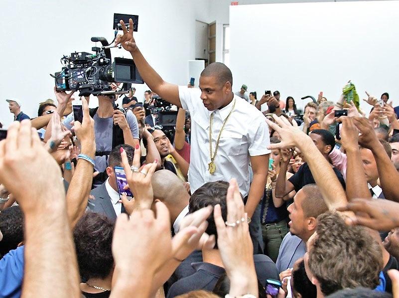 Jay Z przedstawia \