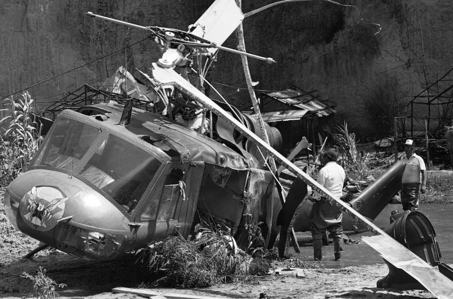 """""""Strefa mroku"""": Helikopter, który ścina głowy"""