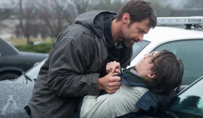 """Hugh Jackman i Paul Dano w filmie """"Labirynt"""""""