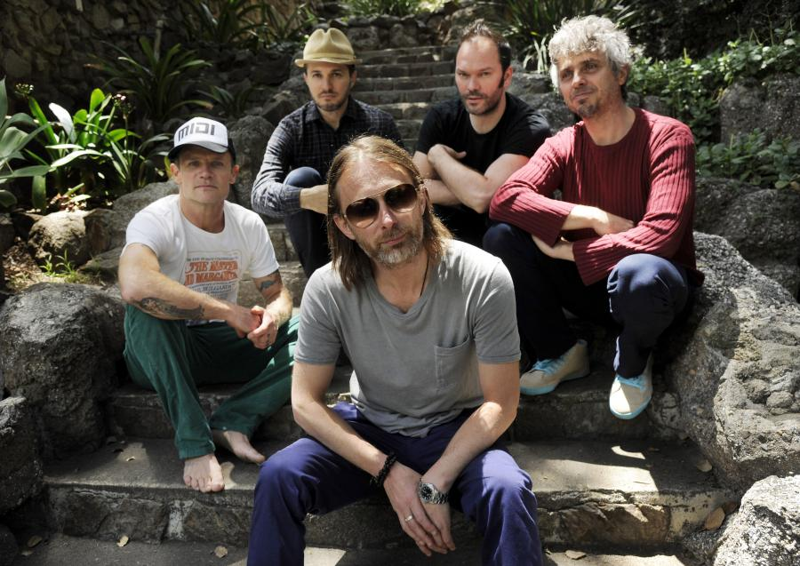 Thom Yorke i Atoms for Peace