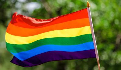 Flaga gejów - zdjęcie ilustracyjne