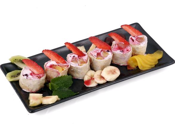 Sushi z truskawkami? Tak, to możliwe!