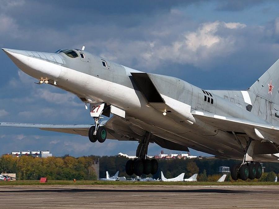 Rosyjski bombowiec strategiczny Tu-22M