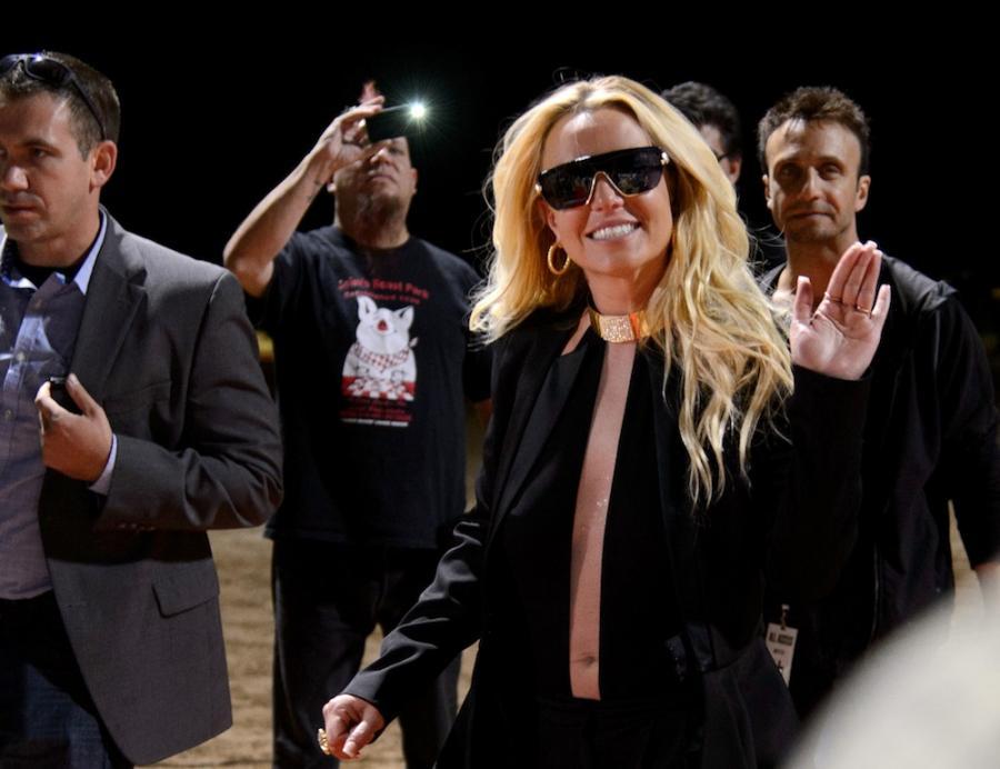Britney Spears świętowała urodziny... w sali prób