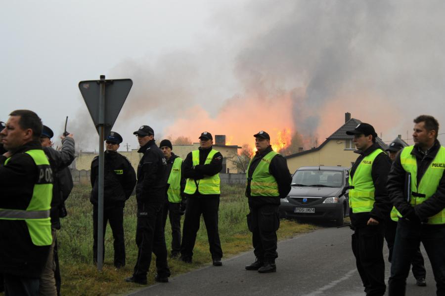 Wybuch gazu w Jankowie Przygodzkim
