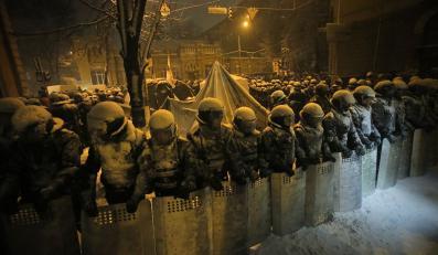 Oddziały milicji w Kijowie