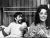 """Peter O'Toole i Elizabeth Taylor w filmie """"Under Milk Wood"""""""
