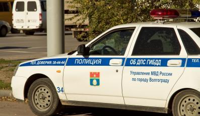 Radiowóz policji w Wołgogradzie