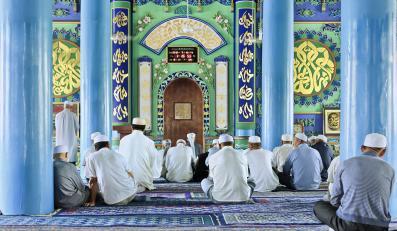 Meczet w regionie Ningxia