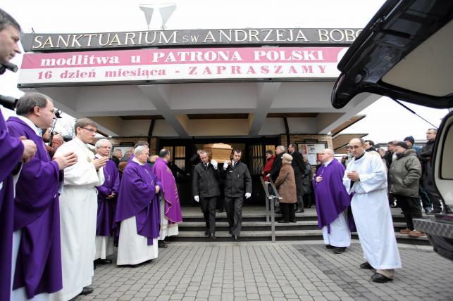 Pogrzeb Andrzeja Turskiego