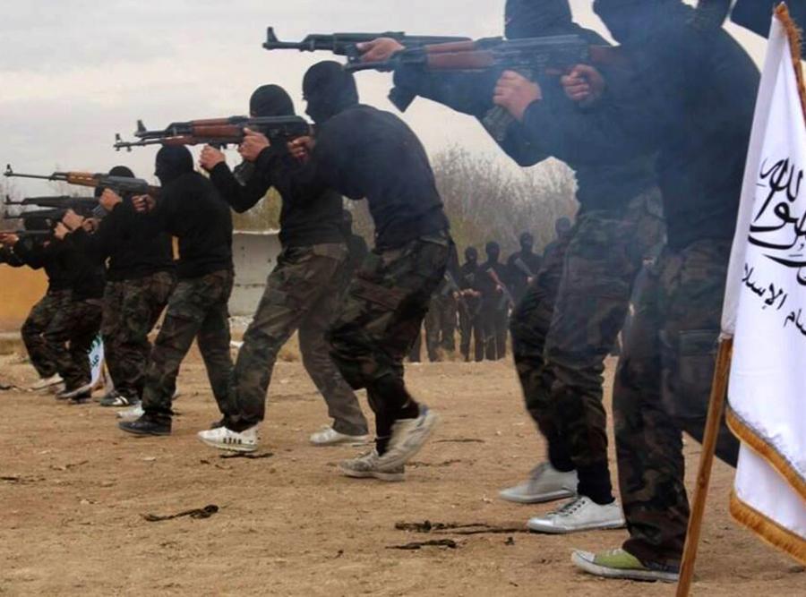 Bojownicy Al-Kaidy w Syrii
