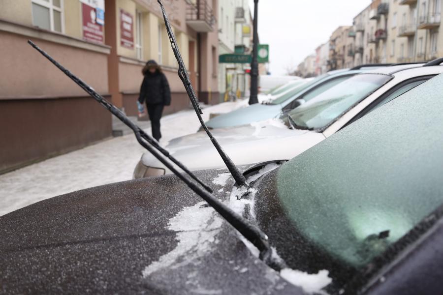 Zima w Radomiu