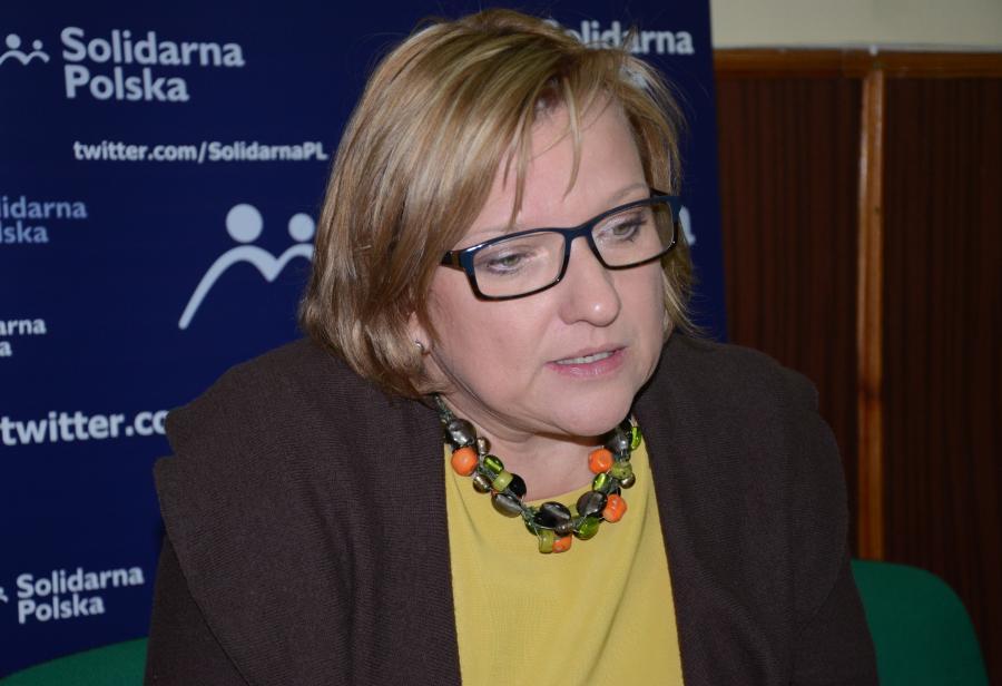 Posłanka SP Beata Kempa