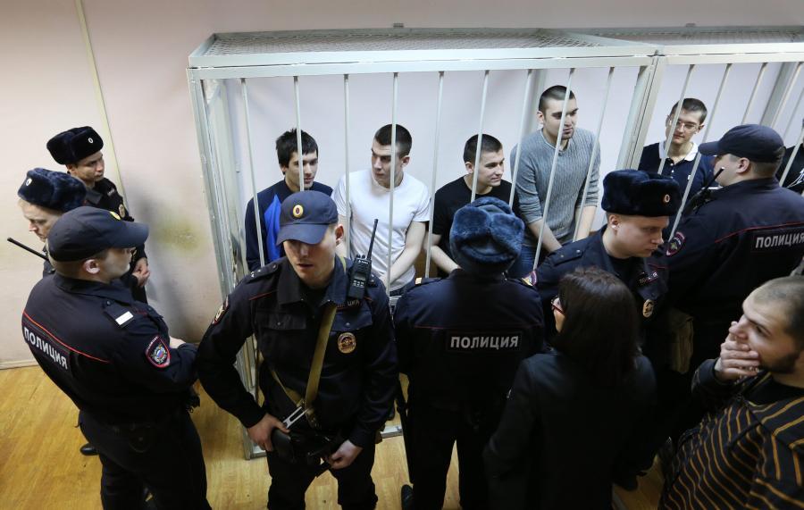 Porces rosyjskich opozycjonistów