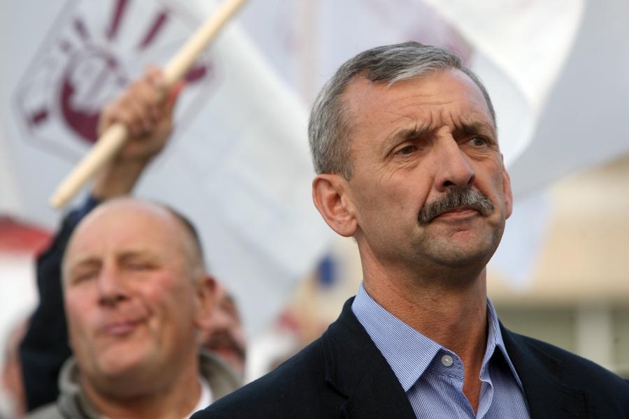 Szef ZNP Sławomir Broniarz