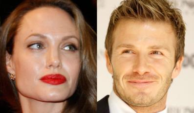 Beckham porzucił Victorię dla Angeliny Jolie