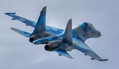 Ukraina ukraiński myśliwiec samolot Su-27