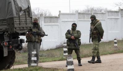 Uzbrojone oddziały w Sewastopolu