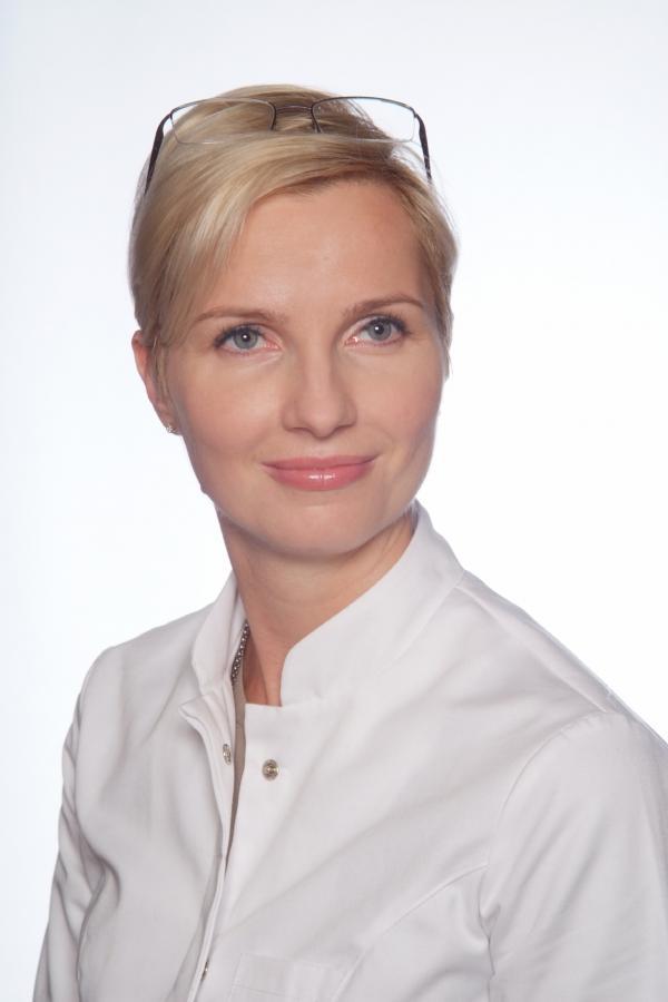 Dr Iwona Radziejowska-Choma z Centrum Flebologii