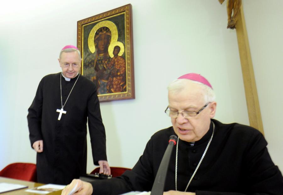 Abp Stanisław Gądecki i abp Józef Michalik