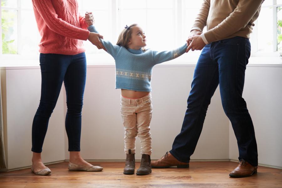 Rodzice walczący o dziecko
