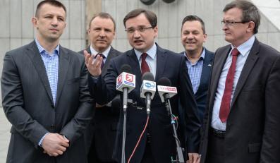Politycy Solidarnej Polski z Tomasz Adamkiem
