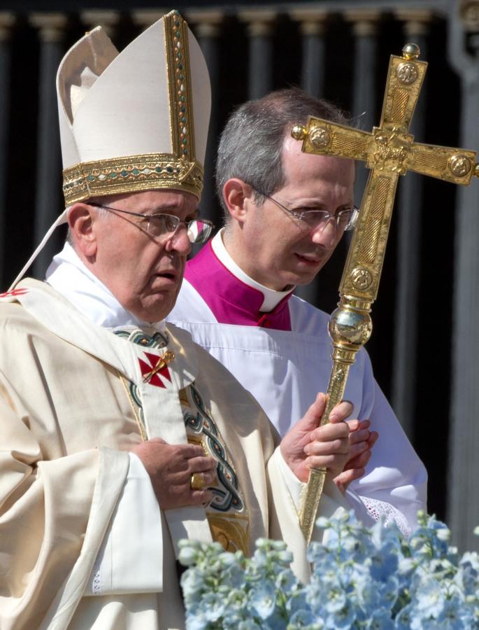 Papież Franciszek na Wielkanoc przekazał błogosławieństwo Urbi et Orbi