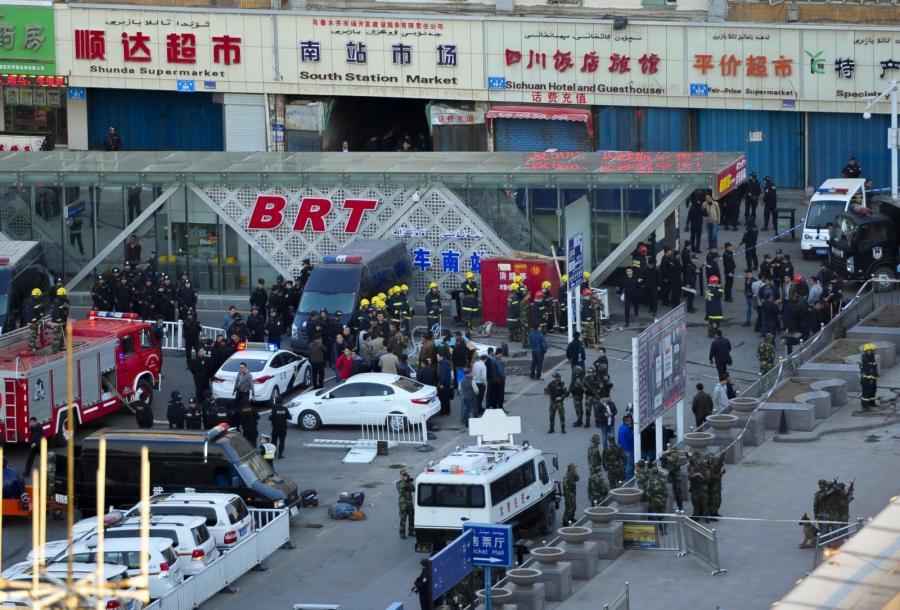 Zamach bombowy w Chinach