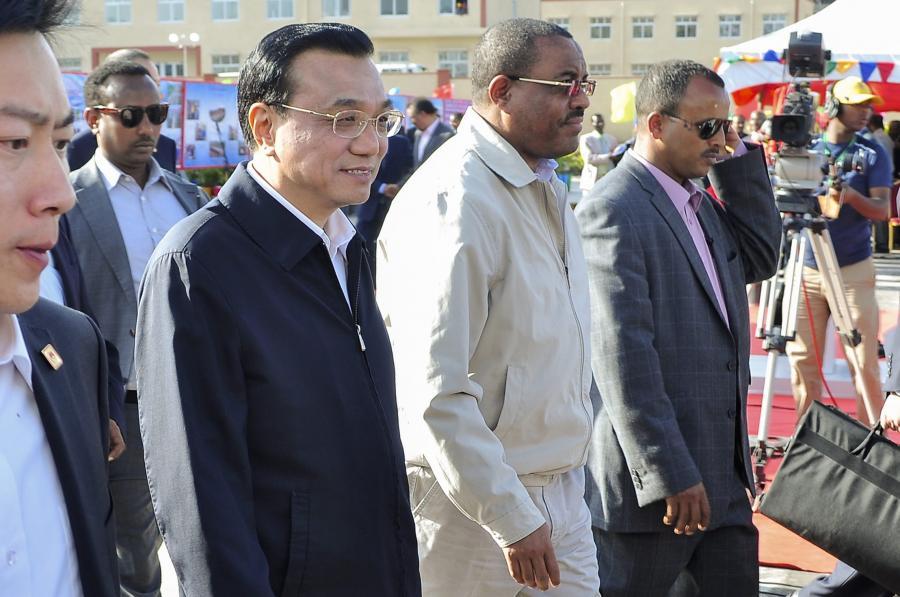 Premier Li Keqiang w Etiopii