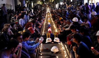 Hołd dla ofiar katastrofy w Somie