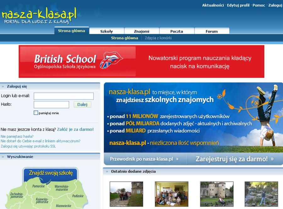 Najwięcej znajomych na portalu nasza-klasa.pl ma papież-Polak Jan Paweł II