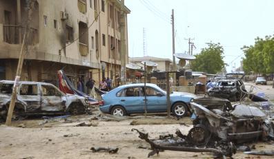 Eksplozja samochodu-pułapki zabiła pięć osób w dzielnicy barów i restauracji w Kano w północnej Nigerii