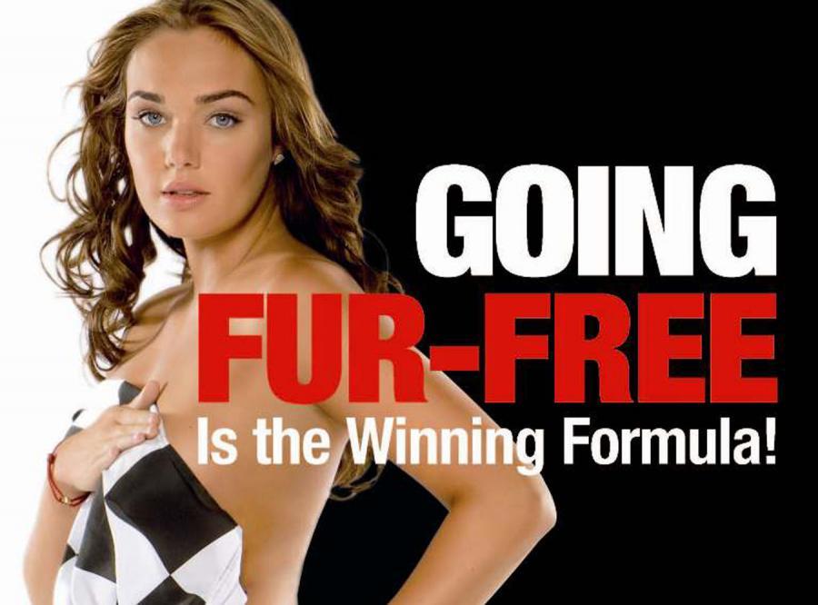Córka szefa F1 broni zwierząt własnym ciałem