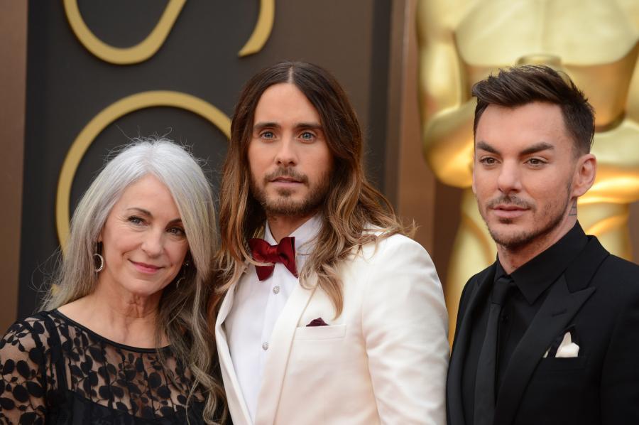 Jared Leto z mamą Constance i bratem