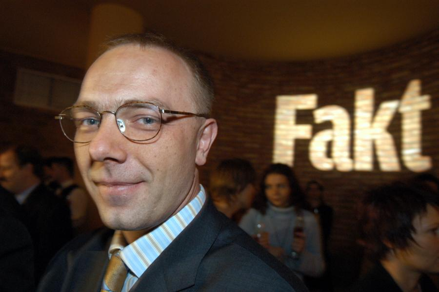 Grzegorz Jankowski, redaktor naczelny \