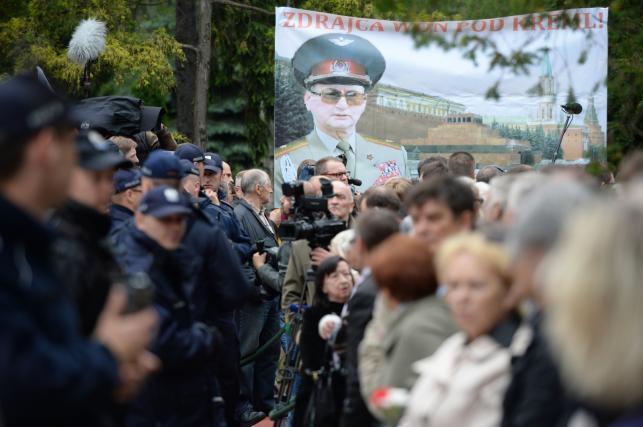 Pogrzeb generała Wojciecha Jaruzelskiego na cmentarzu wojskowym na Powązkach