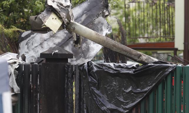 Dlaczego w Bielsku rozbiła się awionetka? Policja ma pierwszą hipotezę. ZDJĘCIA z miejsca katastrofy